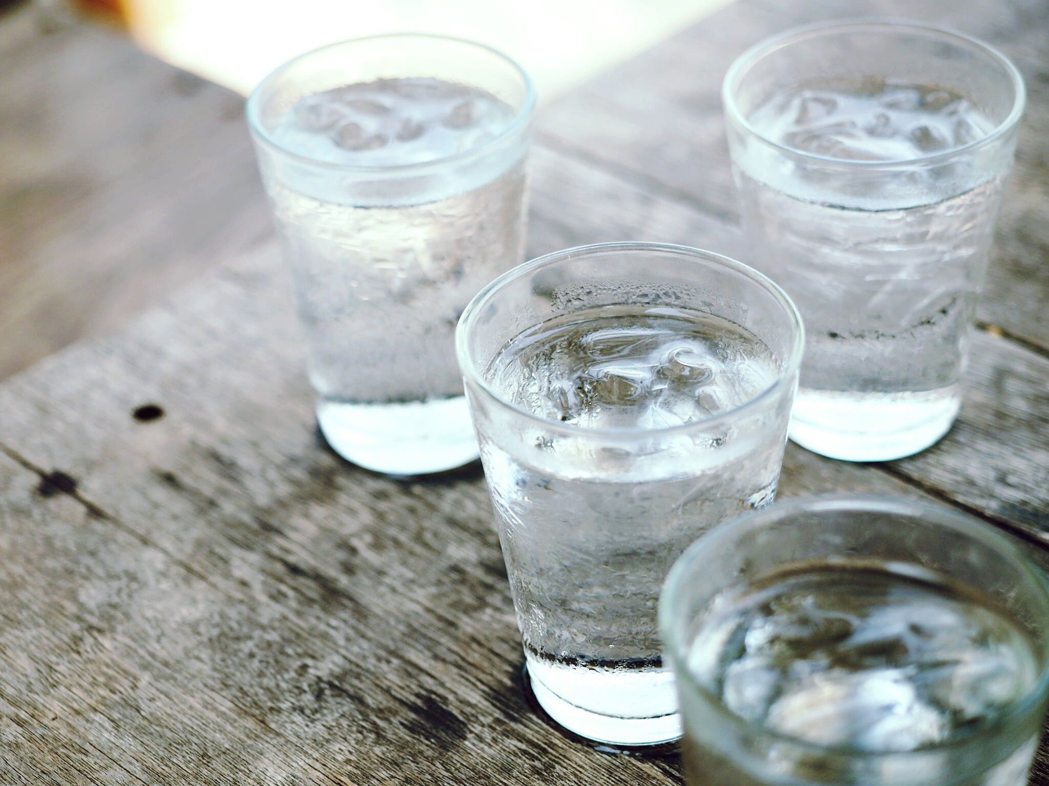 Drink lots of water when detoxing to move those toxins out of your body!