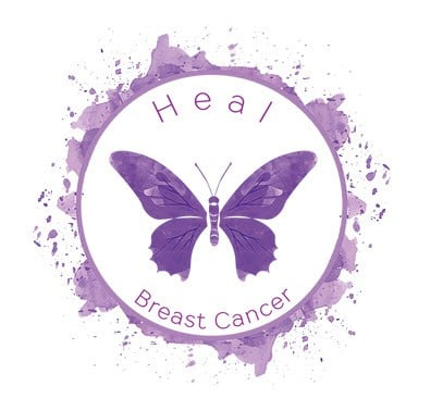 Heal Breast Cancer Butterfly Image - Small