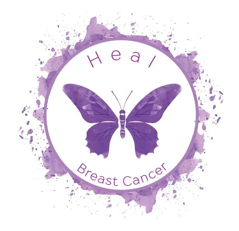 Heal Breast Cancer Butterfly Image