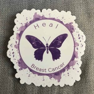 Heal Breast Cancer Magnet