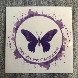 Heal Breast Cancer Sticker