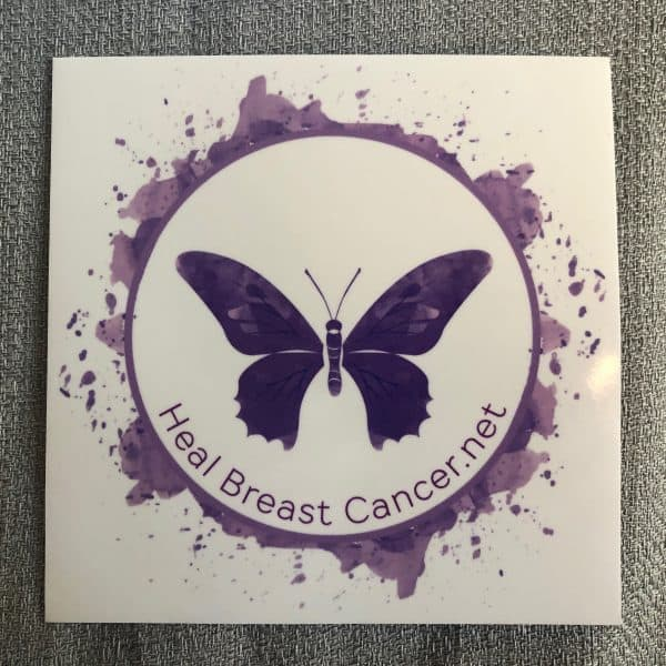 Heal Breast Cancer Sticker